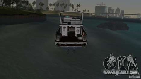 Boat for GTA Vice City side view