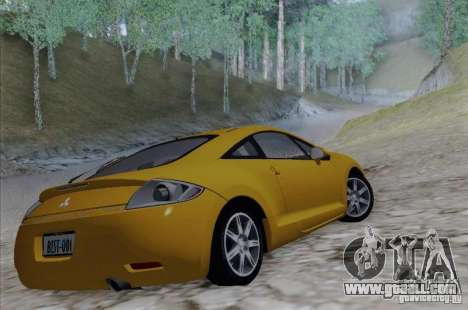 Mitsubishi Eclipse GT V6 for GTA San Andreas left view