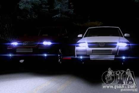 Volkswagen Passat B5+ for GTA San Andreas interior