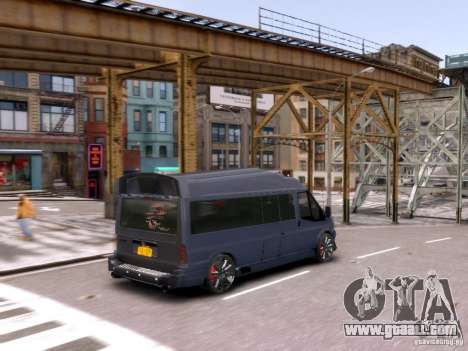 Ford Transit Sport Edition RV 2013 for GTA 4 side view