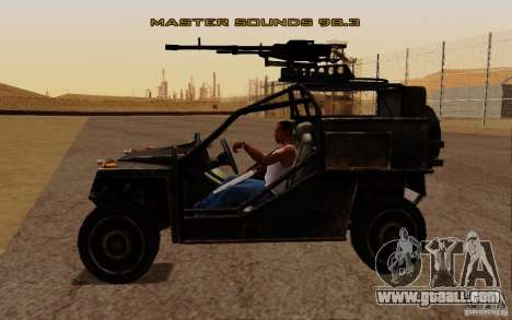 VDV Buggy from Battlefield 3 for GTA San Andreas right view