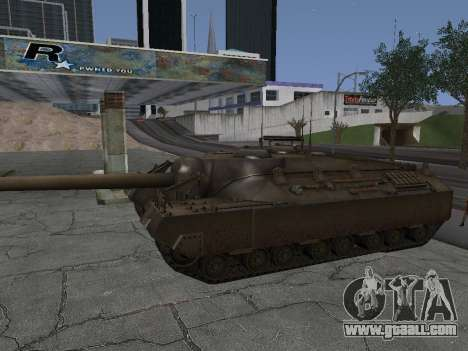 Pt-SAU T95 for GTA San Andreas back view
