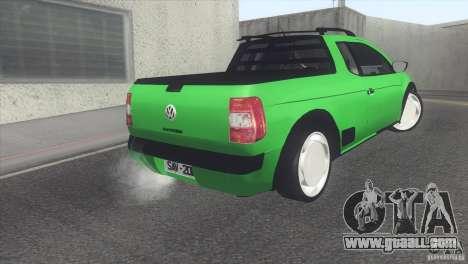 Volkswagen Saveiro 2013 for GTA San Andreas right view