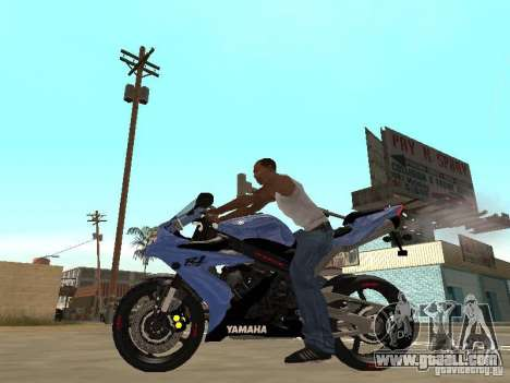 Yamaha YZF-R1 for GTA San Andreas left view