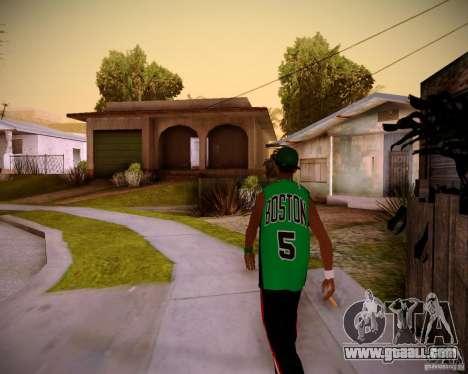 Skins pack gang Grove for GTA San Andreas second screenshot