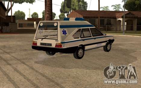 FSO Polonez Cargo MR94 Ambulance for GTA San Andreas right view