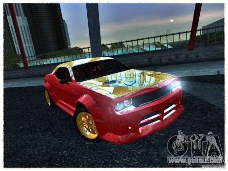 Dodge Challenger Calibri-Ace for GTA San Andreas