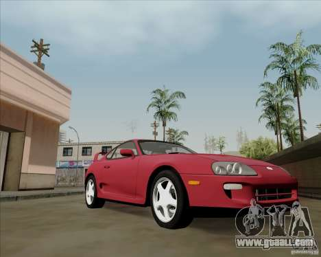 Toyota Supra RZ 98 Twin Turbo for GTA San Andreas left view