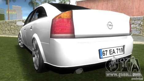 Opel Vectra for GTA Vice City left view