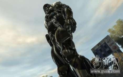 Crysis 3 The Hunter skin for GTA 4 third screenshot