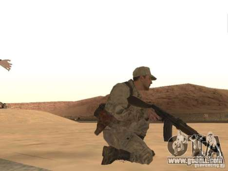 A Soviet Soldier Skin for GTA San Andreas forth screenshot