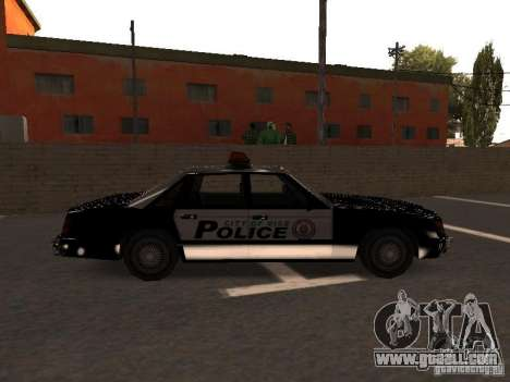Police VC for GTA San Andreas left view