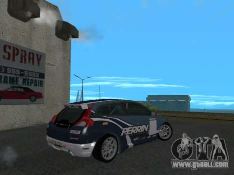 Volvo C30 Race for GTA San Andreas left view