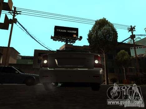 Lada 2170 Priora for GTA San Andreas back view