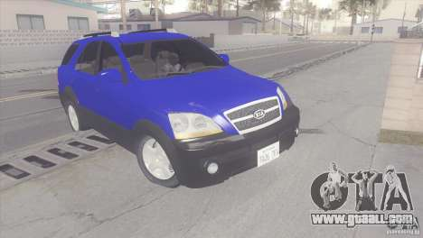 Kia Sorento for GTA San Andreas left view