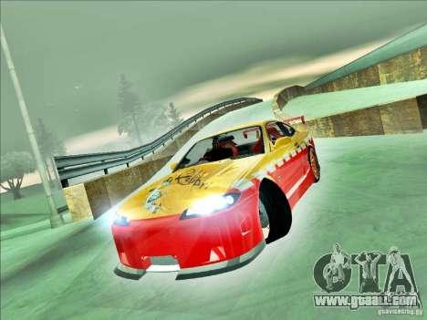Nissan Silvia S15 Calibri-Ace for GTA San Andreas back left view