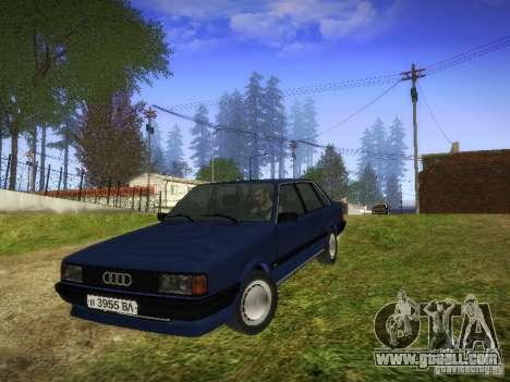 Audi 80 1987 V1.0 for GTA San Andreas