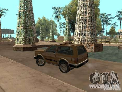New Landstalker for GTA San Andreas back left view