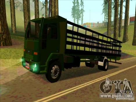 Ford Cargo for GTA San Andreas left view
