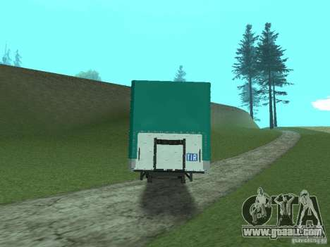 KOGEL Trailer for GTA San Andreas back left view
