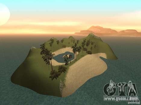 Volcano for GTA San Andreas