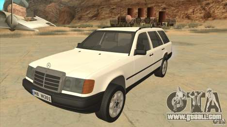 Mercedes Benz E-Class W124 for GTA San Andreas