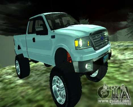 Ford F-150 EXT for GTA San Andreas left view