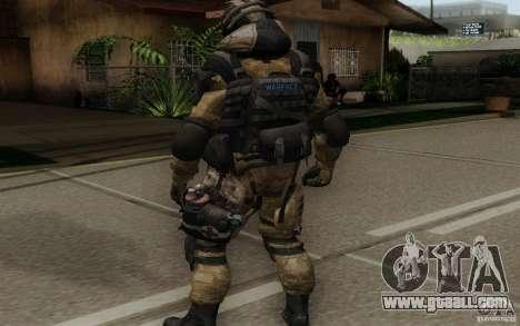 The Medic from Warface for GTA San Andreas third screenshot