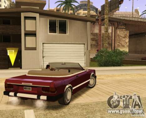 Feltzer HD v2 for GTA San Andreas left view