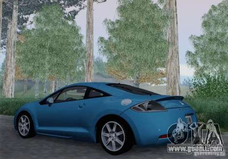 Mitsubishi Eclipse GT V6 for GTA San Andreas back view