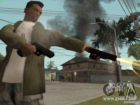 Gun G18 for GTA San Andreas