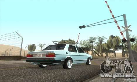 Volkswagen Jetta MK1 for GTA San Andreas back view