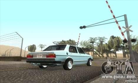 Volkswagen Jetta MK1 for GTA San Andreas back view