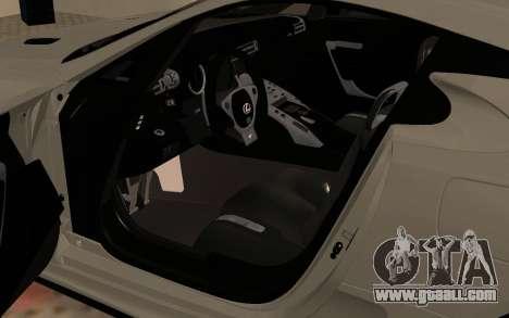 Lexus LFA AutoVista 2010 for GTA San Andreas back view