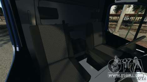 Mercedes-Benz Sprinter G4S ES Cash Transporter for GTA 4 inner view