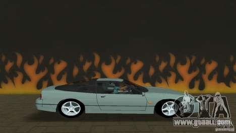 Nissan 200SX for GTA Vice City left view