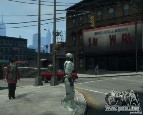 Skin Robokopa for GTA 4 second screenshot
