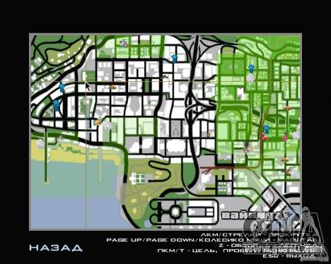 New HUD for GTA San Andreas second screenshot