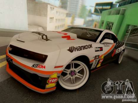 Chevrolet Camaro Hankook Tire for GTA San Andreas