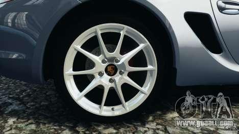 Porsche Cayman R 2012 for GTA 4 side view