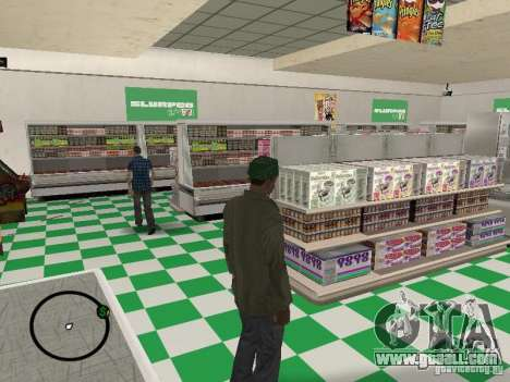 New textures eateries for GTA San Andreas third screenshot