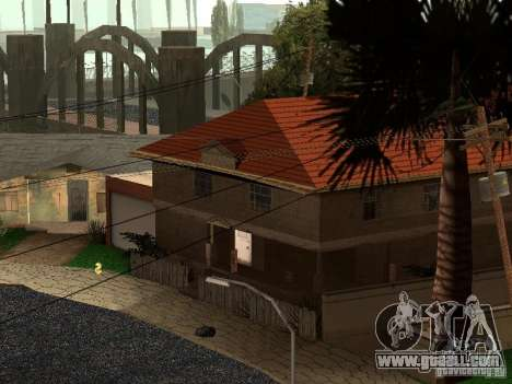 The New Grove Street for GTA San Andreas third screenshot