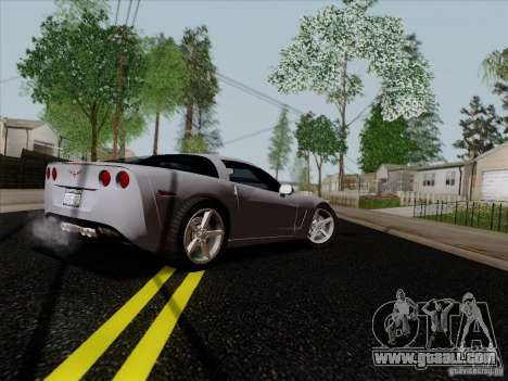 Chevrolet Corvette Z51 for GTA San Andreas right view