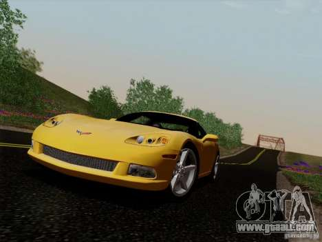 Chevrolet Corvette Z51 for GTA San Andreas