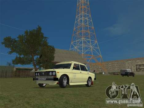 VAZ 2106 Sparco Tuning for GTA Vice City right view