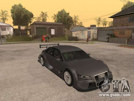 Audi A4 Touring for GTA San Andreas inner view