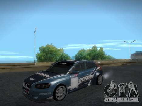 Volvo C30 Race for GTA San Andreas inner view