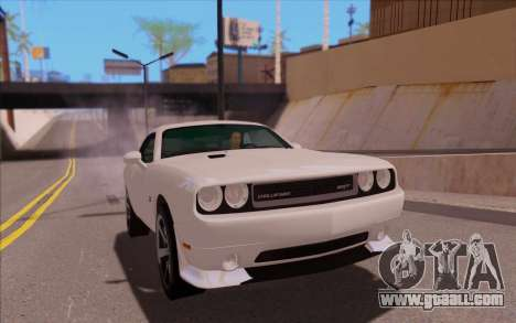 Dodge Challenger for GTA San Andreas right view