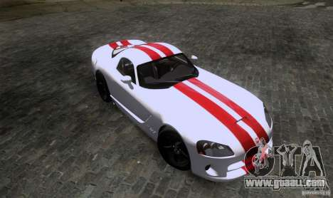 Dodge Viper SRT-10 Coupe for GTA San Andreas