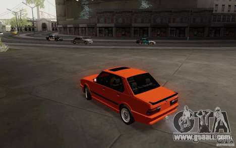 BMW M5 E28 for GTA San Andreas left view